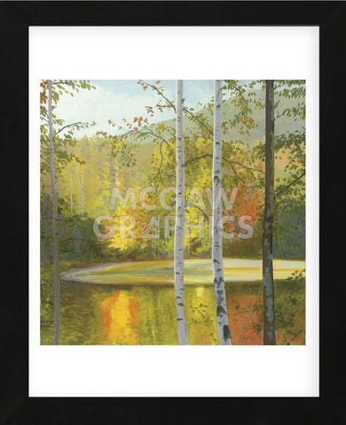 Cooper Lake, Autumn (Framed) -  Elissa Gore - McGaw Graphics