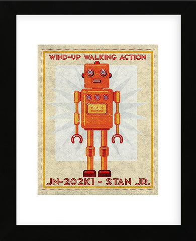 John W. Golden - Stan Jr. Box Art Robot