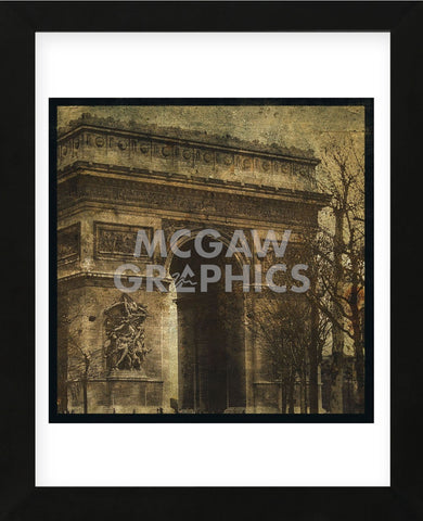 Arc de Triomphe (Framed) -  John W. Golden - McGaw Graphics