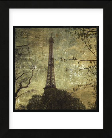 Eiffel Tower (Framed) -  John W. Golden - McGaw Graphics