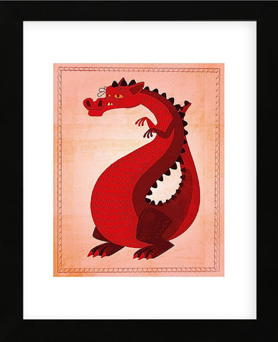 Red Dragon  (Framed) -  John W. Golden - McGaw Graphics