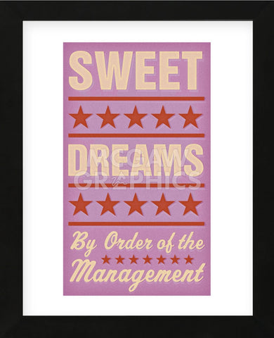 Sweet Dreams (Framed) -  John W. Golden - McGaw Graphics