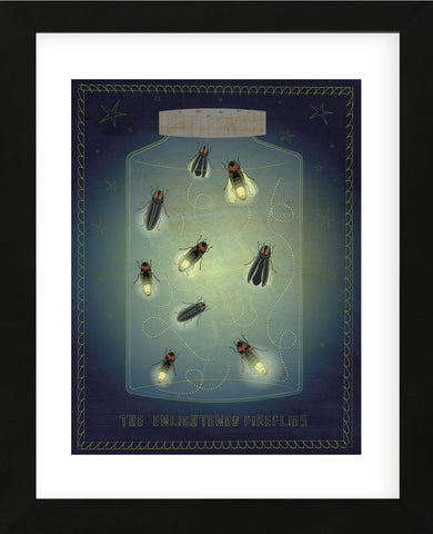 The Enlightened Fireflies (Framed) -  John W. Golden - McGaw Graphics