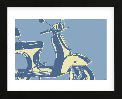 Motoretta (Framed) -  John W. Golden - McGaw Graphics