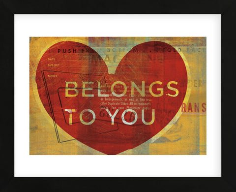 Belongs to You (Framed) -  John W. Golden - McGaw Graphics