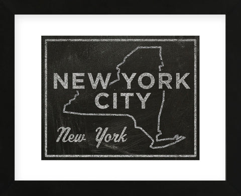New York City, New York (Framed) -  John W. Golden - McGaw Graphics