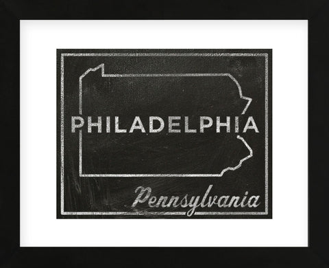 Philadelphia, Pennsylvania (Framed) -  John W. Golden - McGaw Graphics