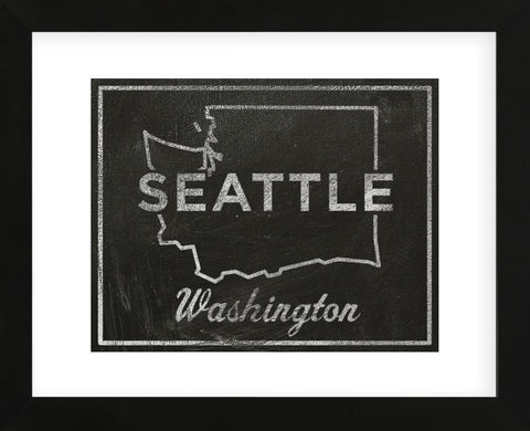 Seattle, Washington (Framed) -  John W. Golden - McGaw Graphics