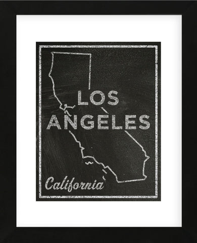 Los Angeles, California (Framed) -  John W. Golden - McGaw Graphics