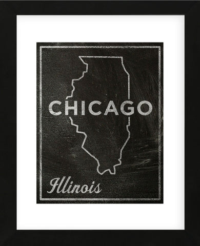 Chicago, Illinois (Framed) -  John W. Golden - McGaw Graphics