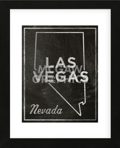 Las Vegas, Nevada (Framed) -  John W. Golden - McGaw Graphics