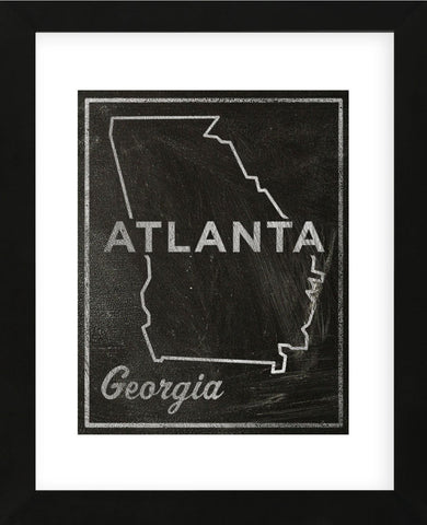 Atlanta, Georgia (Framed) -  John W. Golden - McGaw Graphics