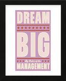 Dream Big (pink) (Framed) -  John W. Golden - McGaw Graphics