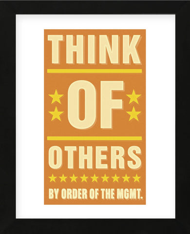 Think of Others (Framed) -  John W. Golden - McGaw Graphics