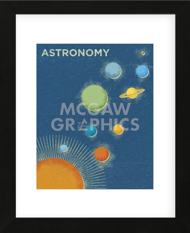 Astronomy (Framed) -  John W. Golden - McGaw Graphics
