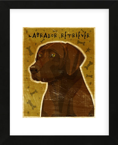 Chocolate Lab (NEW) (Framed) -  John W. Golden - McGaw Graphics