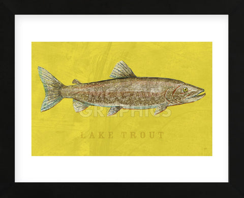 Lake Trout (Framed) -  John W. Golden - McGaw Graphics