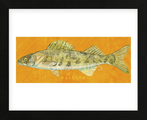 Walleye (Framed) -  John W. Golden - McGaw Graphics
