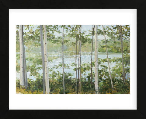 Birch Lake (Framed) -  Elissa Gore - McGaw Graphics