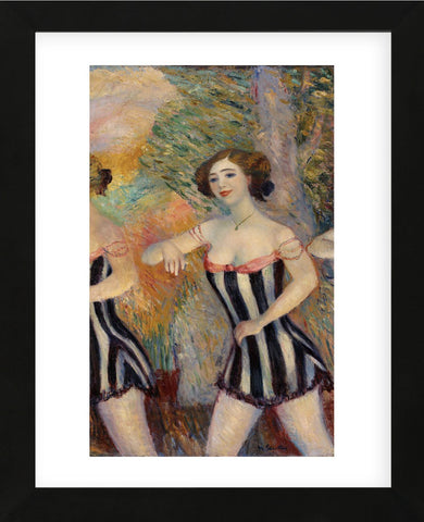 Pony Ballet, 1910-early 1911 (Framed) -  William James Glackens - McGaw Graphics