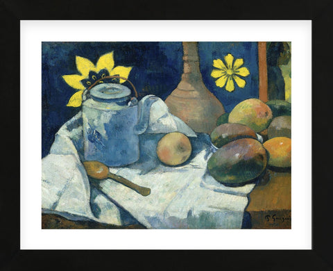Paul Gauguin - Still Life with Teapot and Fruit, 1896