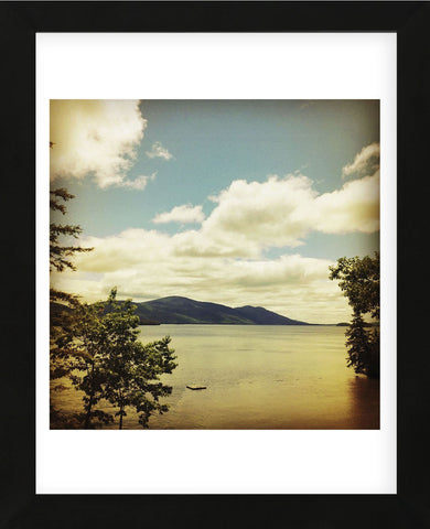 Lakescape Lake George (Framed) -  Gizara - McGaw Graphics
