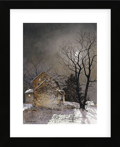 Working Late  (Framed) -  Ray Hendershot - McGaw Graphics