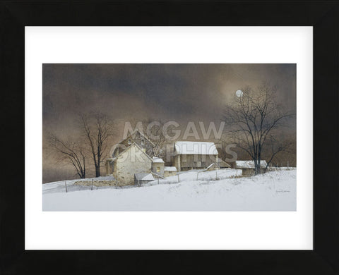 New Moon (Framed) -  Ray Hendershot - McGaw Graphics