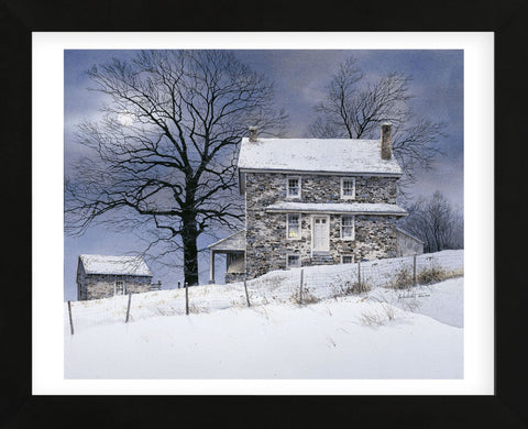 One Candle  (Framed) -  Ray Hendershot - McGaw Graphics