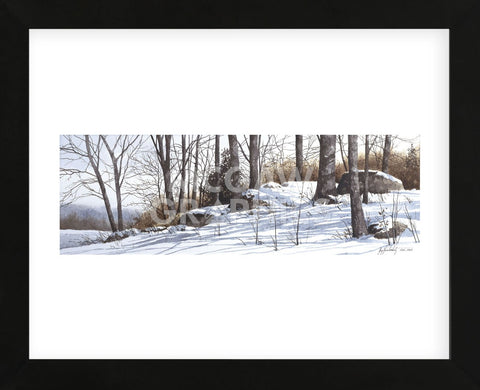 First Snow  (Framed) -  Ray Hendershot - McGaw Graphics