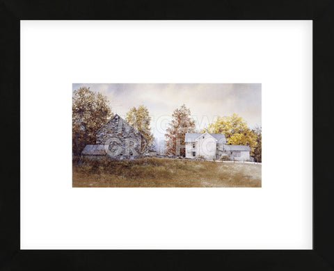 Autumn Roost (Framed) -  Ray Hendershot - McGaw Graphics