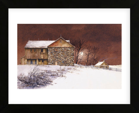 Evening at Knabb Farm  (Framed) -  Bradley Hendershot - McGaw Graphics