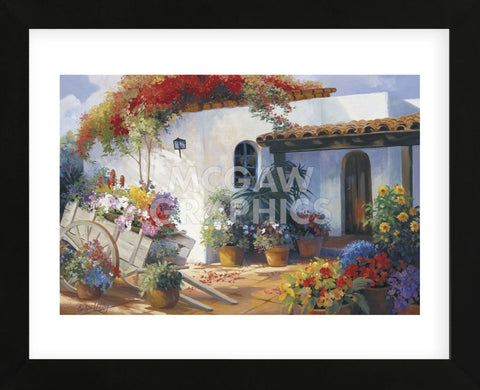 Honeymoon Casita (Framed) -  Carolyne Hawley - McGaw Graphics