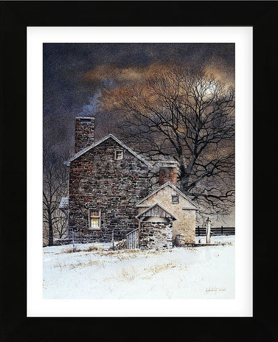Blue Moon (Framed) -  Ray Hendershot - McGaw Graphics