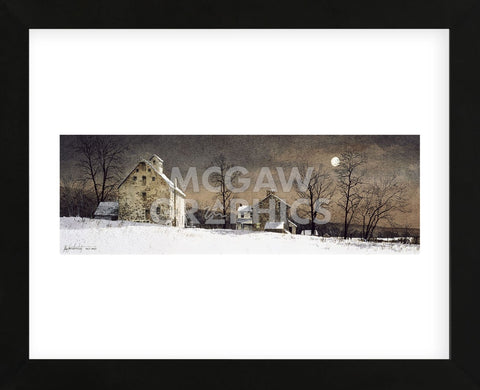 Mill Moon  (Framed) -  Ray Hendershot - McGaw Graphics