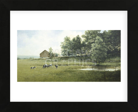 Country Lane (Framed) -  Ray Hendershot - McGaw Graphics