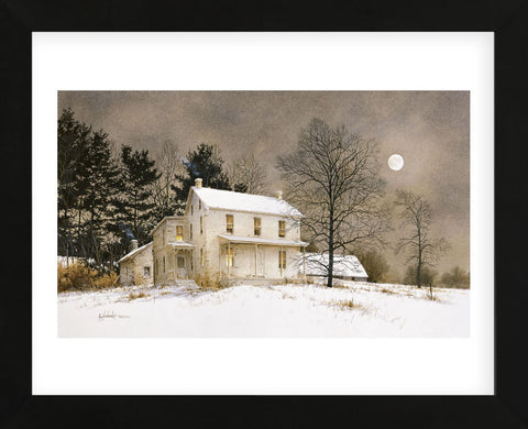 Wolf Moon  (Framed) -  Ray Hendershot - McGaw Graphics