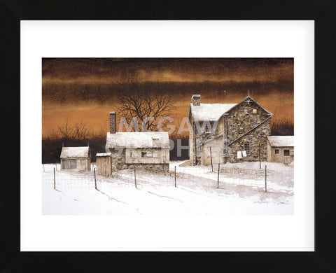 Evening Star  (Framed) -  Bradley Hendershot - McGaw Graphics