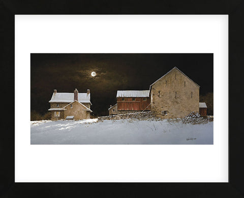 Late Snow  (Framed) -  Ray Hendershot - McGaw Graphics