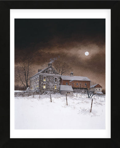 Oley White (Framed) -  Ray Hendershot - McGaw Graphics