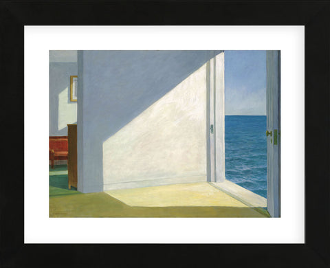 Rooms by the Sea  (Framed) -  Edward Hopper - McGaw Graphics