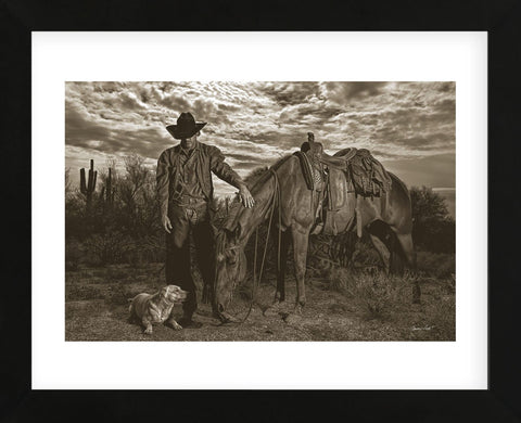 Compadres (Framed) -  Barry Hart - McGaw Graphics