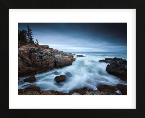 Dawn in Acadia (Framed) -  Michael Hudson - McGaw Graphics