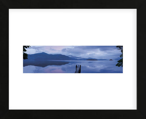 Twilight, Ashness Launch (Framed) -  Michael Hudson - McGaw Graphics