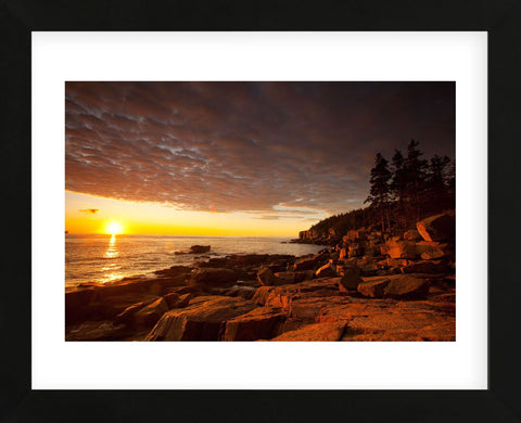 Daybreak on the Maine Coast (Framed) -  Michael Hudson - McGaw Graphics