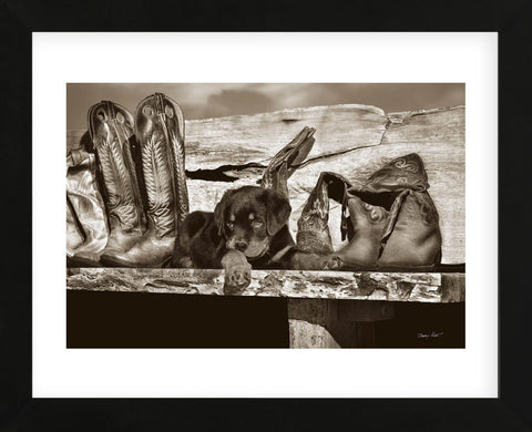 Big Foot (Framed) -  Barry Hart - McGaw Graphics