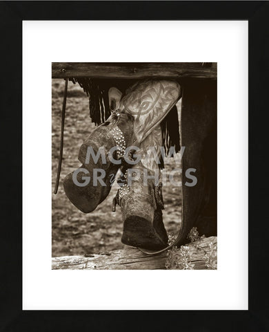 Boots 'n Spurs II (Framed) -  Barry Hart - McGaw Graphics