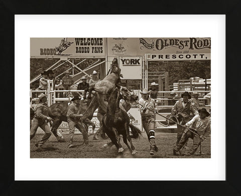 Rodeo Daze (Framed) -  Barry Hart - McGaw Graphics