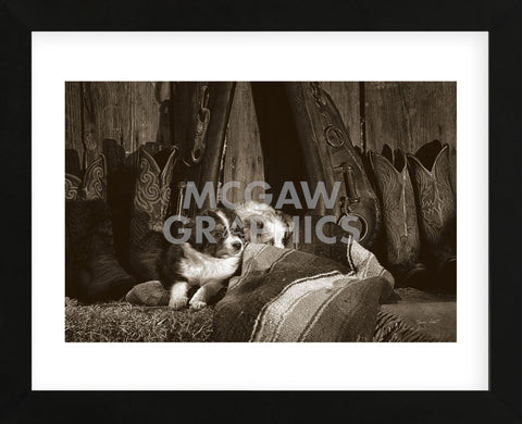 Barn Buddies (Framed) -  Barry Hart - McGaw Graphics