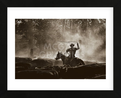 Lost Canyon Roundup (Framed) -  Barry Hart - McGaw Graphics